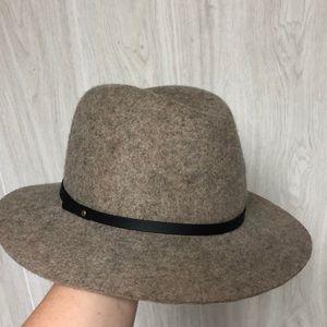 Wool rimmed hat
